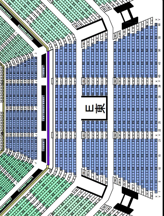 日本武道館座席表東
