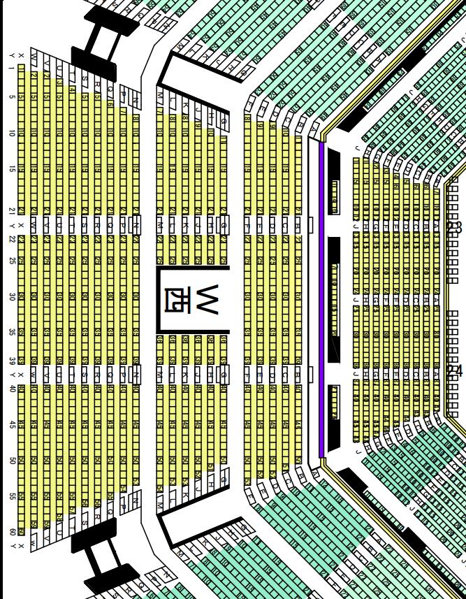 日本武道館座席表西
