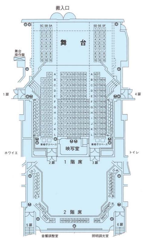 小ホール(1F)