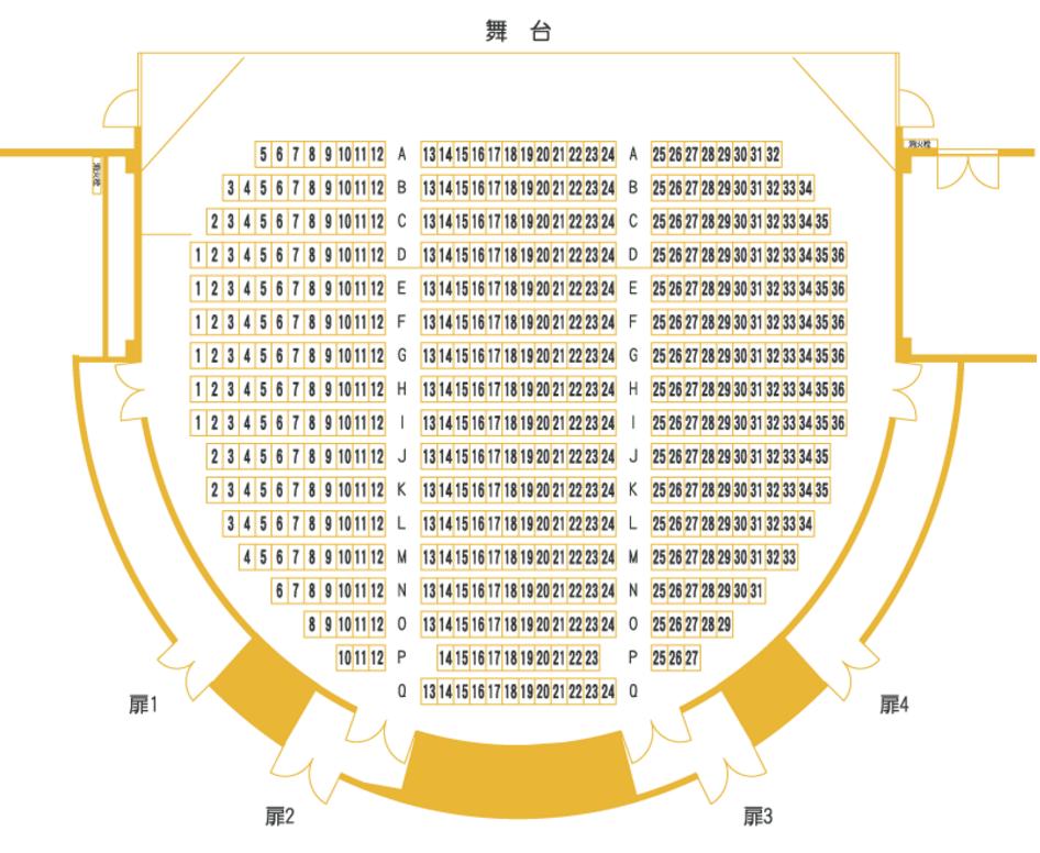天王洲銀河劇場1F